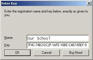 SAK - School Attendance Keeper Product Registration